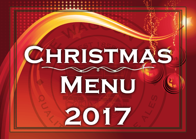 Download our Christmas 2017 Menu