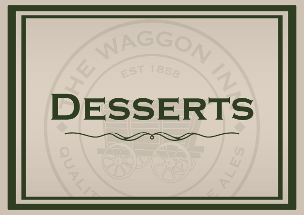 Download our Desserts Menu